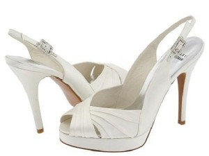 best cheap white wedding shoes
