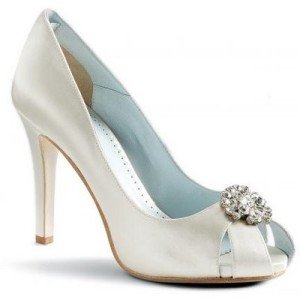 best elegant ivory wedding shoes