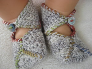 crochet baby shoes free patterns