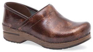 dansko professional clog in brown