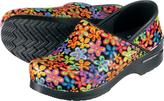 dansko professional flower power