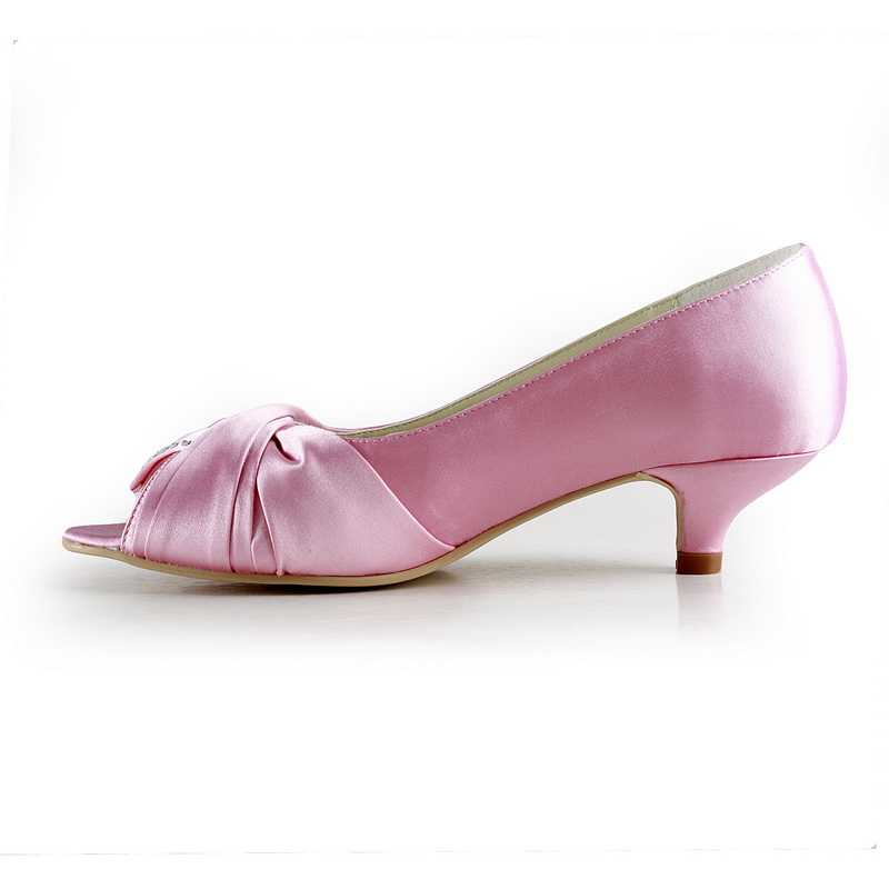 2020 Other | Images: Pink Wedding Shoes Low Heel