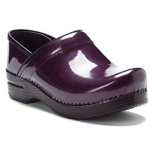 purple dansko professional