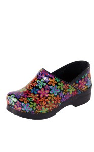 unique dansko professional flower power